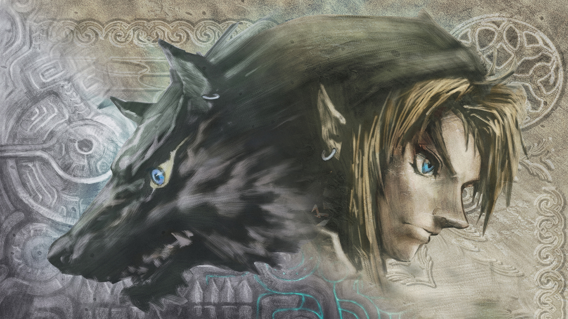 Link Wolf Wallpaper 1920x1080 Link Wolf The Legend Of Zelda 1920x1080