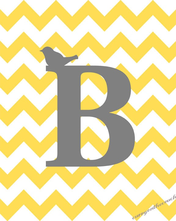 Chevron Stuff Chevron Backgrounds Printable Chevron Yellow Initial 576x720
