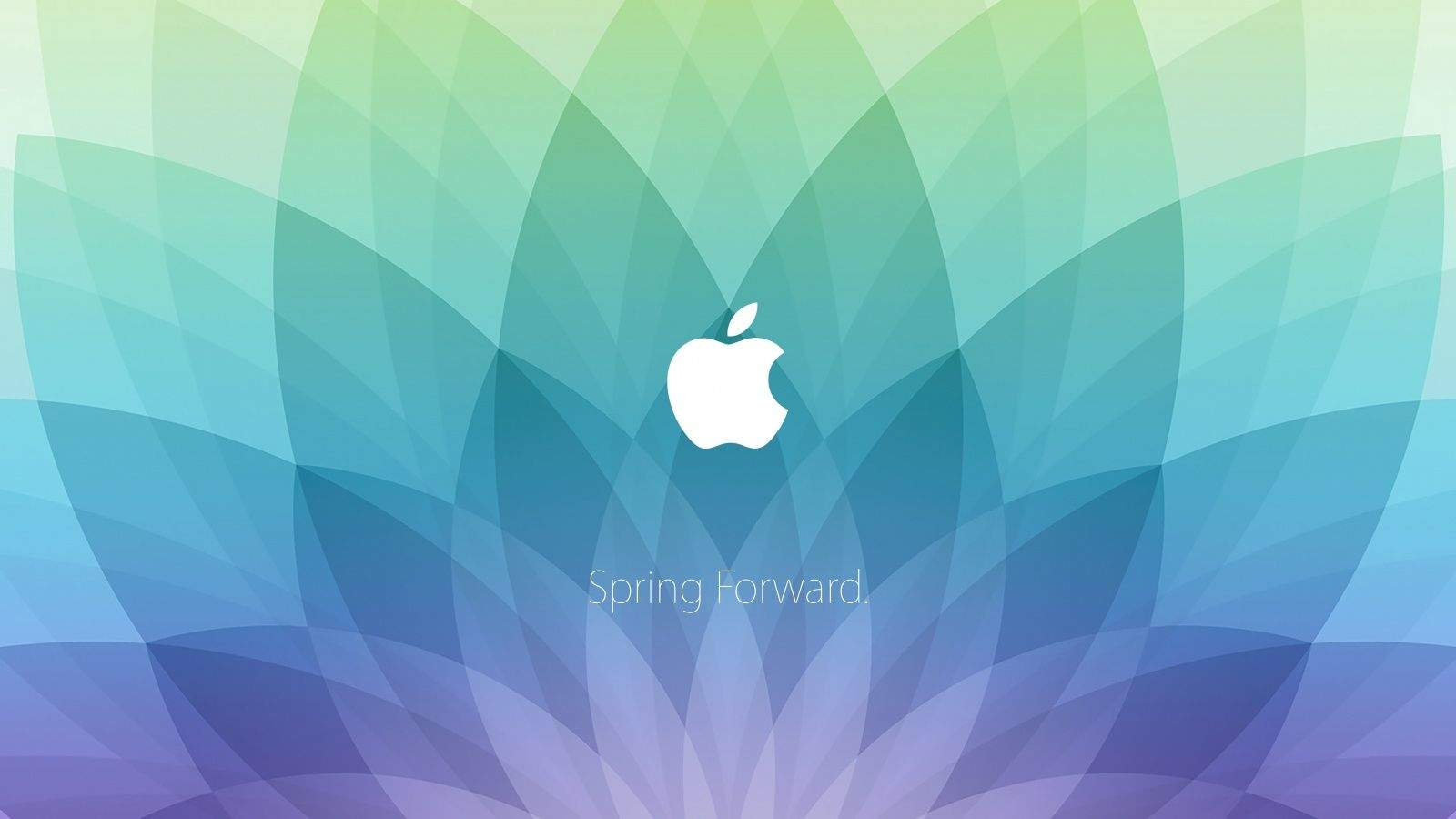 Apple Watch event wallpapers put Spring Forward invite on your Mac 1600x900