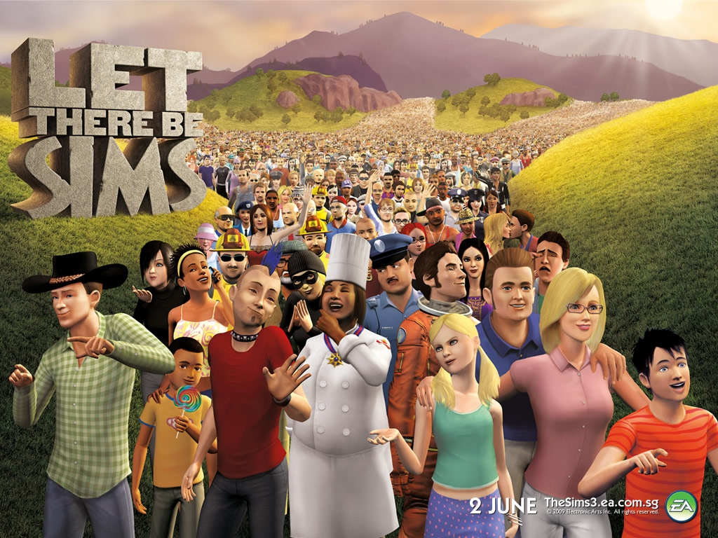 The sims 3 wallpaper   The Sims 3 Late Night Wallpaper 24436678 1024x768