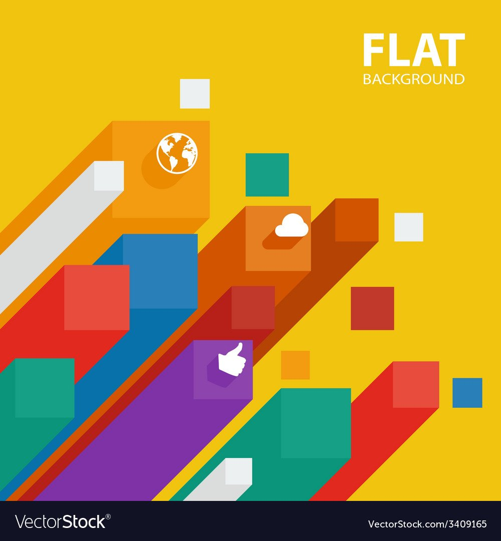 Abstract flat infographic background template with 1000x1080