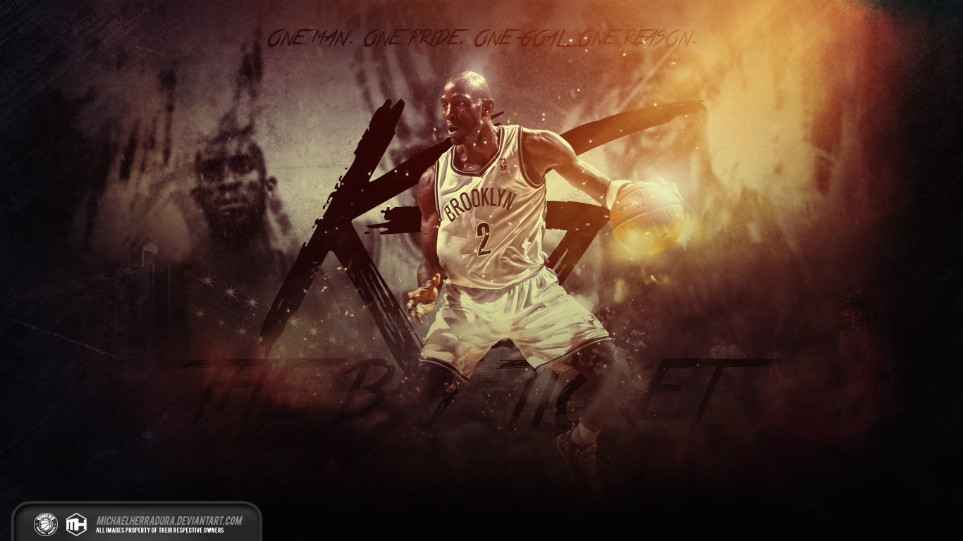 Kevin Garnett The Big Ticket wallpaper by michaelherradura 1366x768