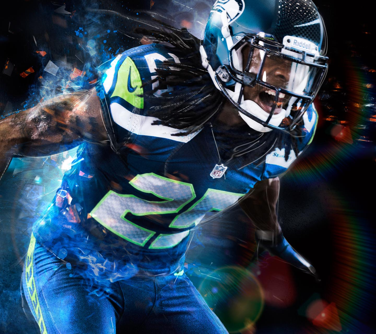 Top 10 HD Richard Sherman Wallpaper 1440x1280