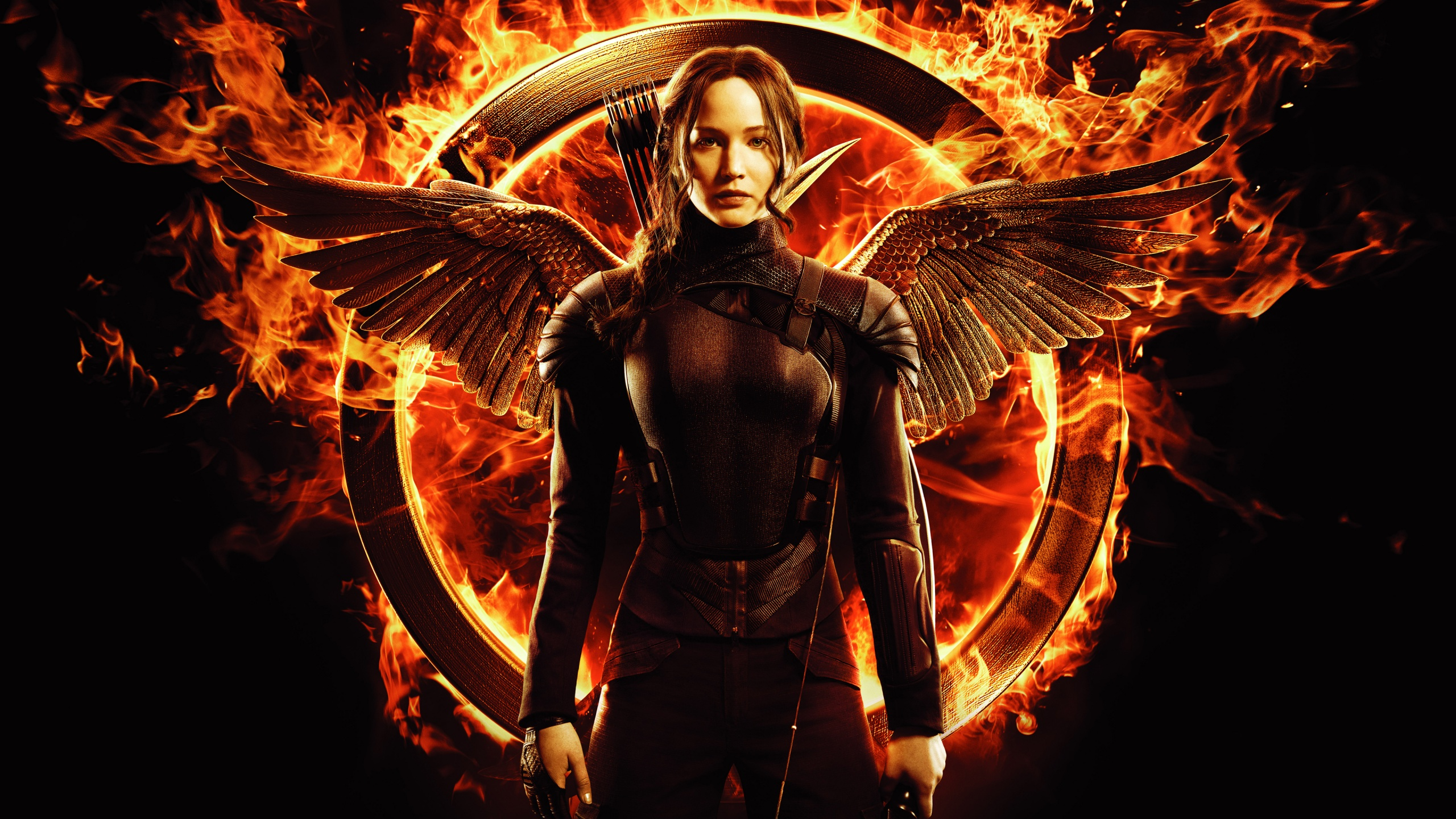 Lawrence in Hunger Games Mockingjay Wallpapers HD Wallpapers 2560x1440