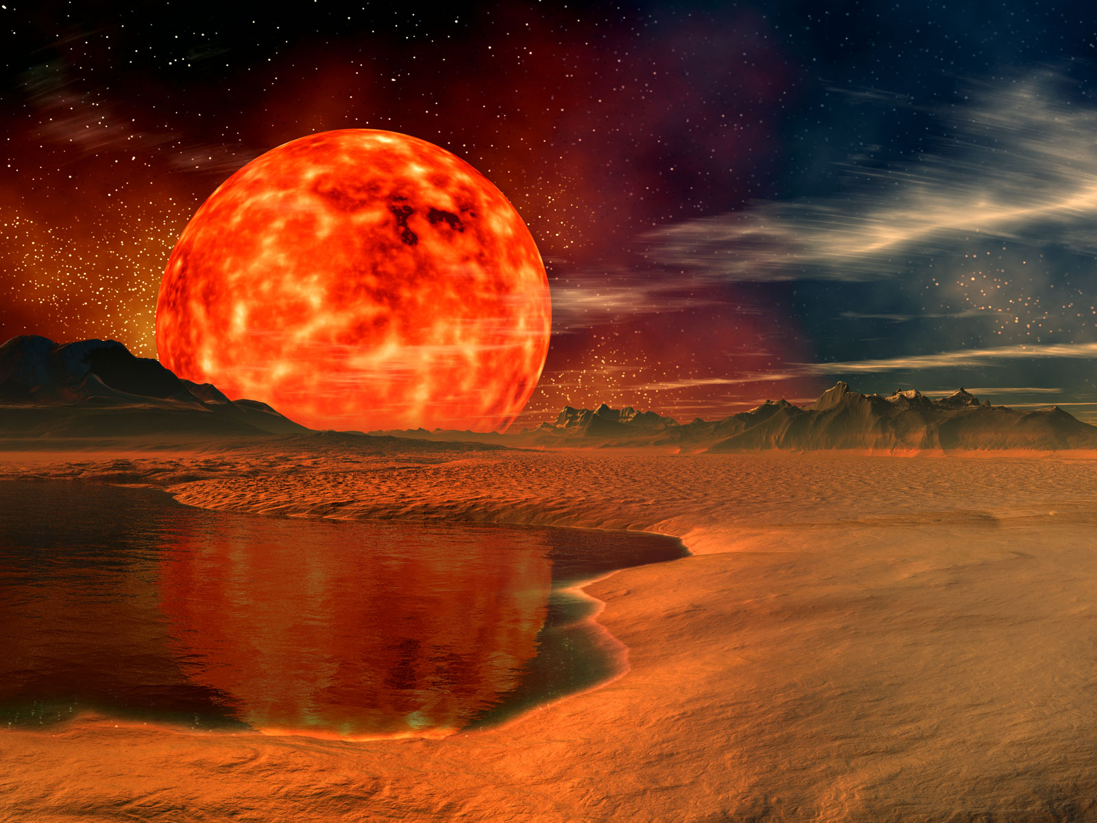 View Space   Red Planet wallpaper Download Space   Red Planet 1600x1200