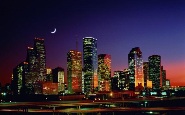 Houston Skyline Desktop Wallpaper: Houston Skyline Wallpaper HD