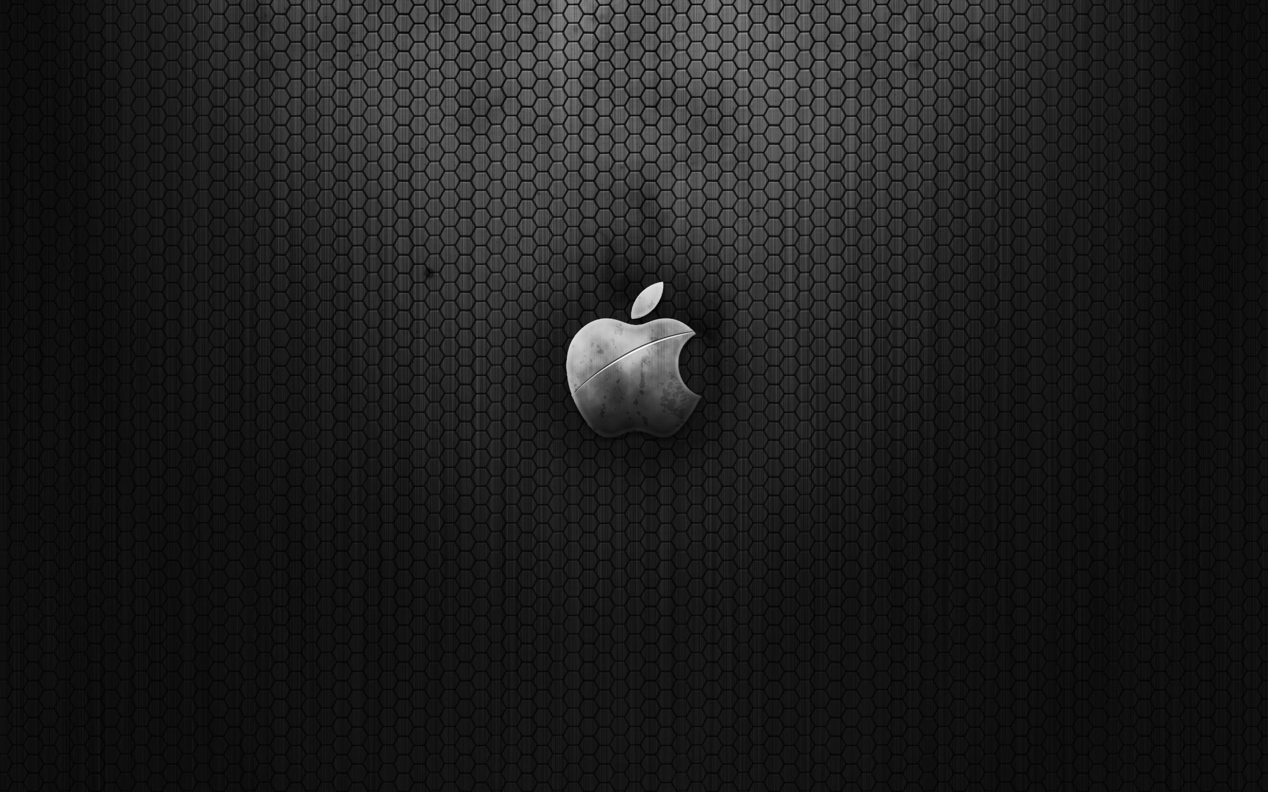 Dark Metal Apple Wallpapers HD Wallpapers 2560x1600