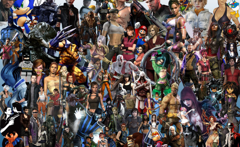Video Games Characters Wallpaper Video Game Characters 770x472