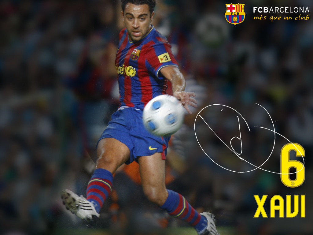 World Sports Hd Wallpapers Xavi Hernandez Hd Wallpapers Barcelona 1024x768