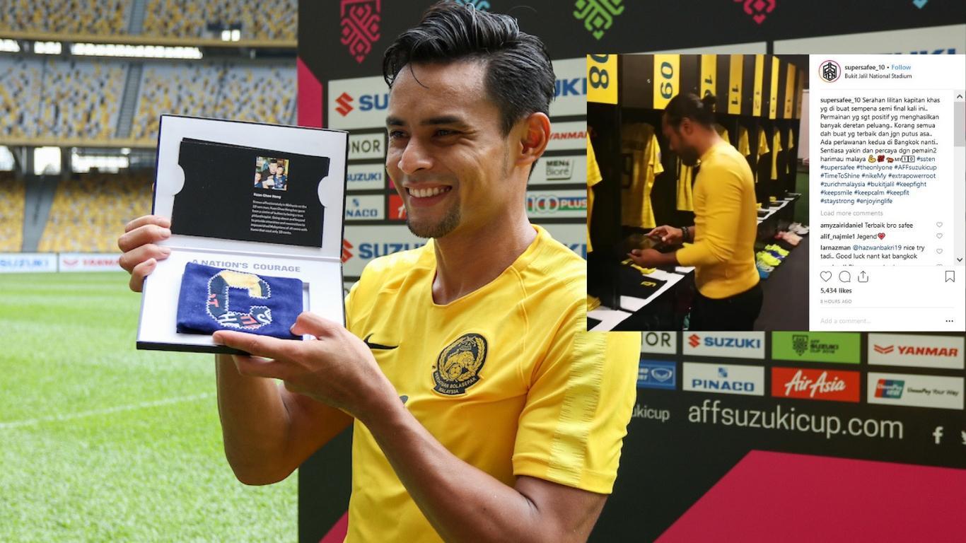 AFF Suzuki Cup 2018 Malaysia legend Safee Sali gives Zaquan Adha 1366x768