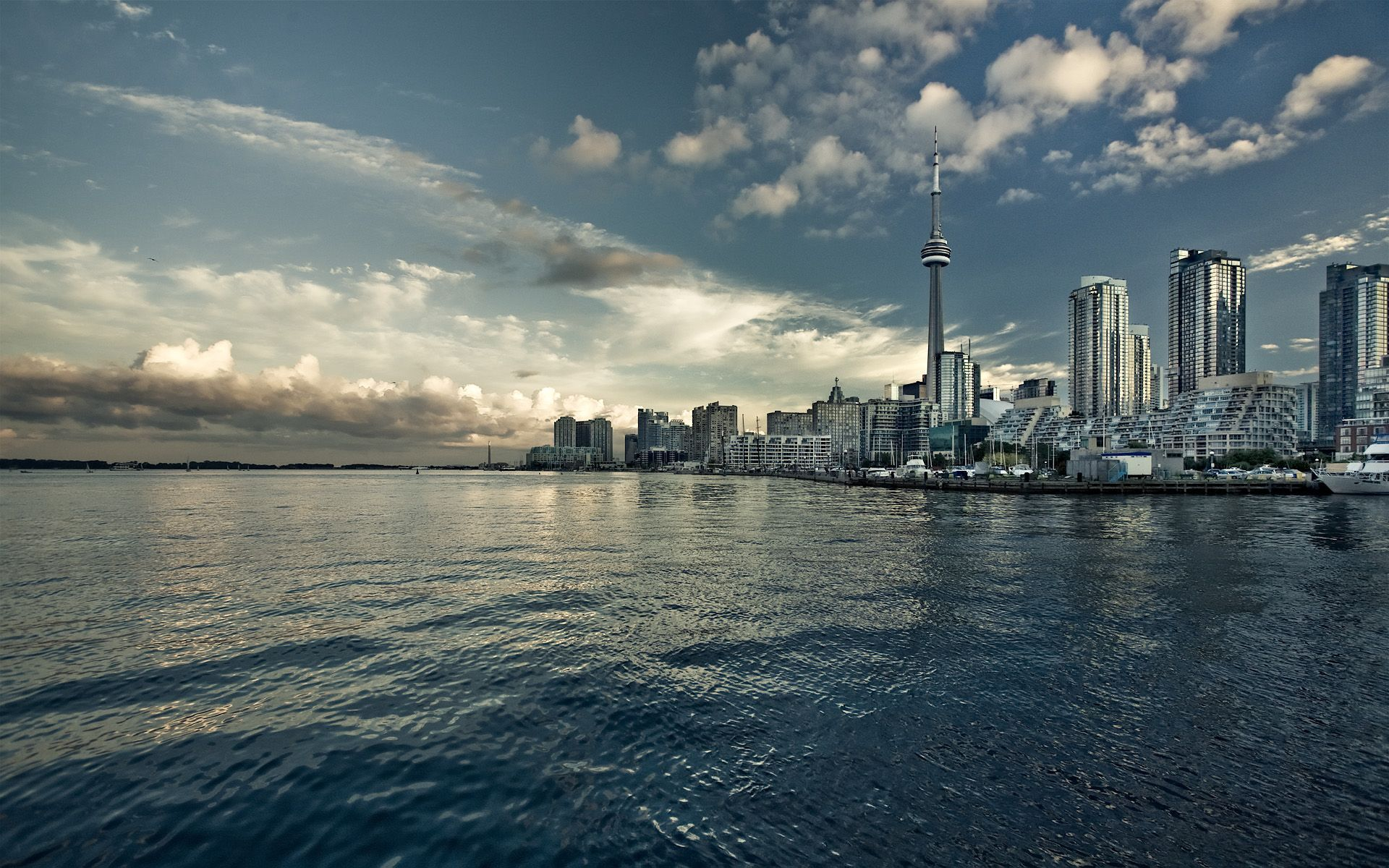 Toronto HD Wallpaper 1920x1080 Lake Ontario   Toronto HD Wallpaper 1920x1200