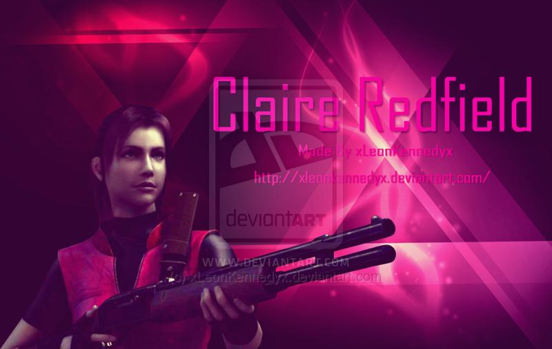 RE degeneration Claire Redfield wallpaper 1 by xLeonKennedyx 800x507
