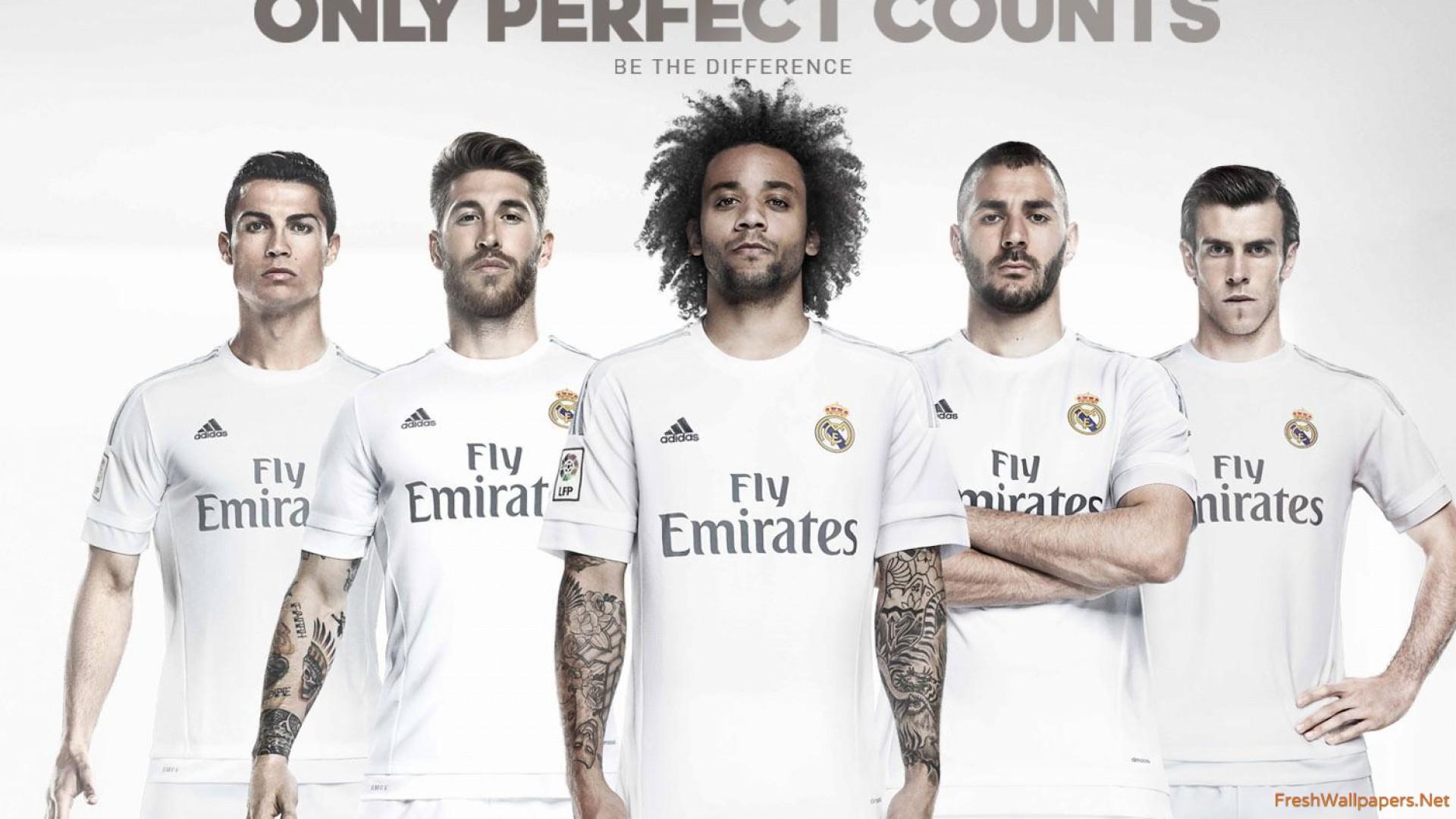 Real Madrid CF 2015 2016 Kit wallpapers Freshwallpapers 1920x1080