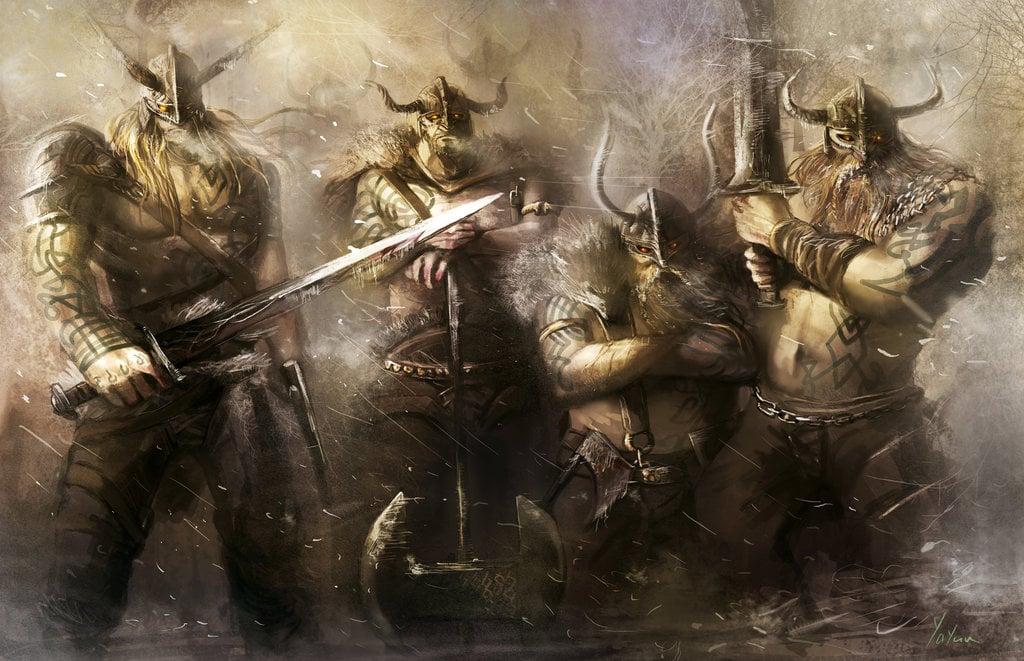 Viking Warrior Wallpaper - WallpaperSafari