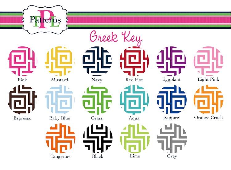 Greek Key Background Mats greek key monogrammed 750x552