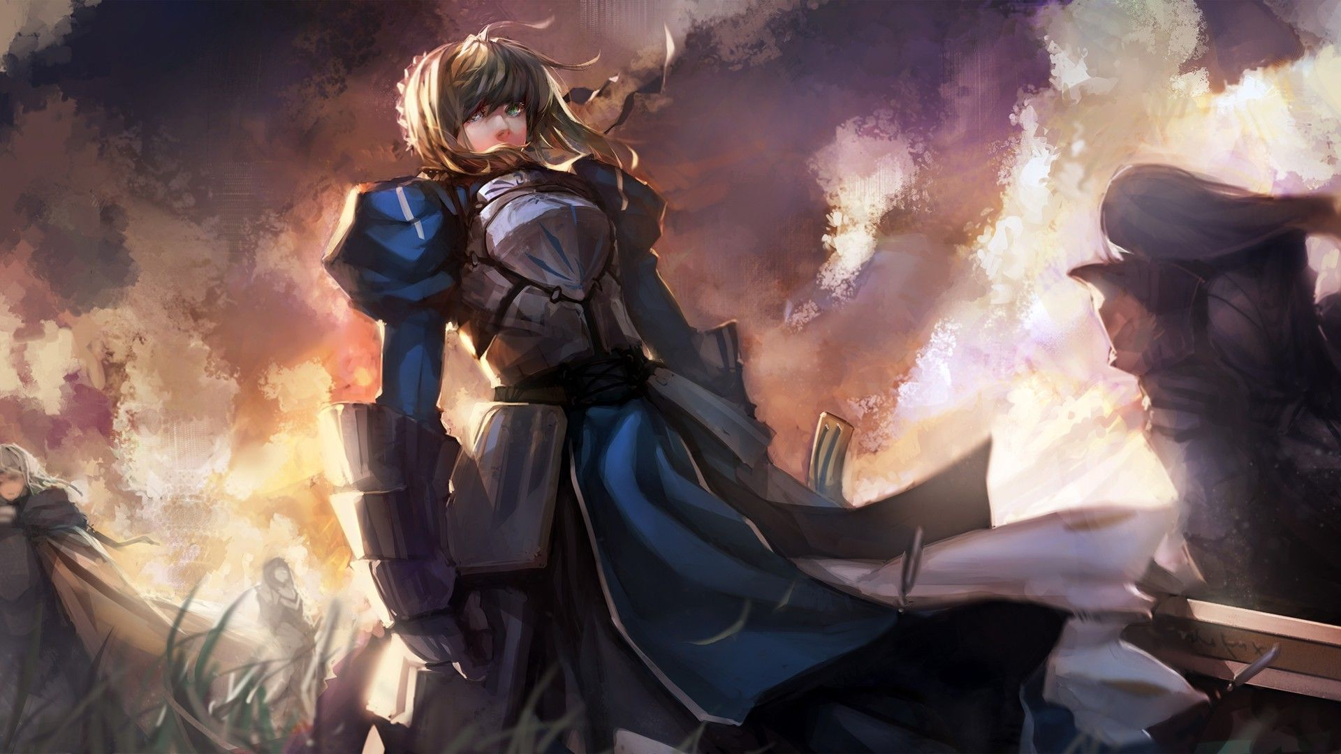 Saber   Fate stay night wallpaper 14364 1920x1080