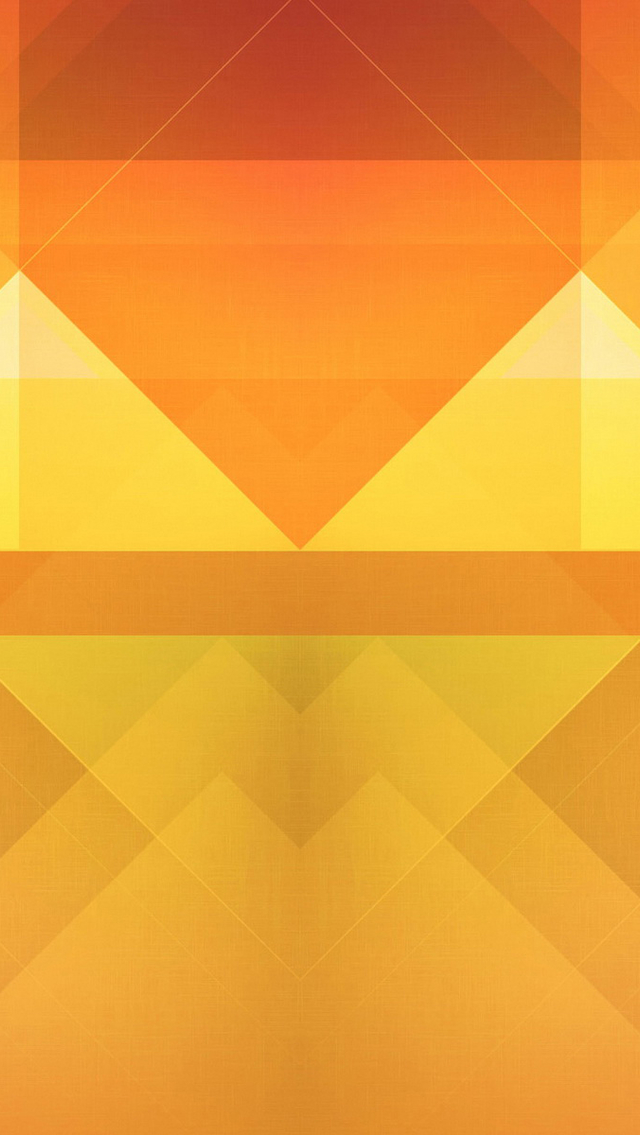 Abstract Orange Triangles Wallpaper   iPhone Wallpapers 640x1135