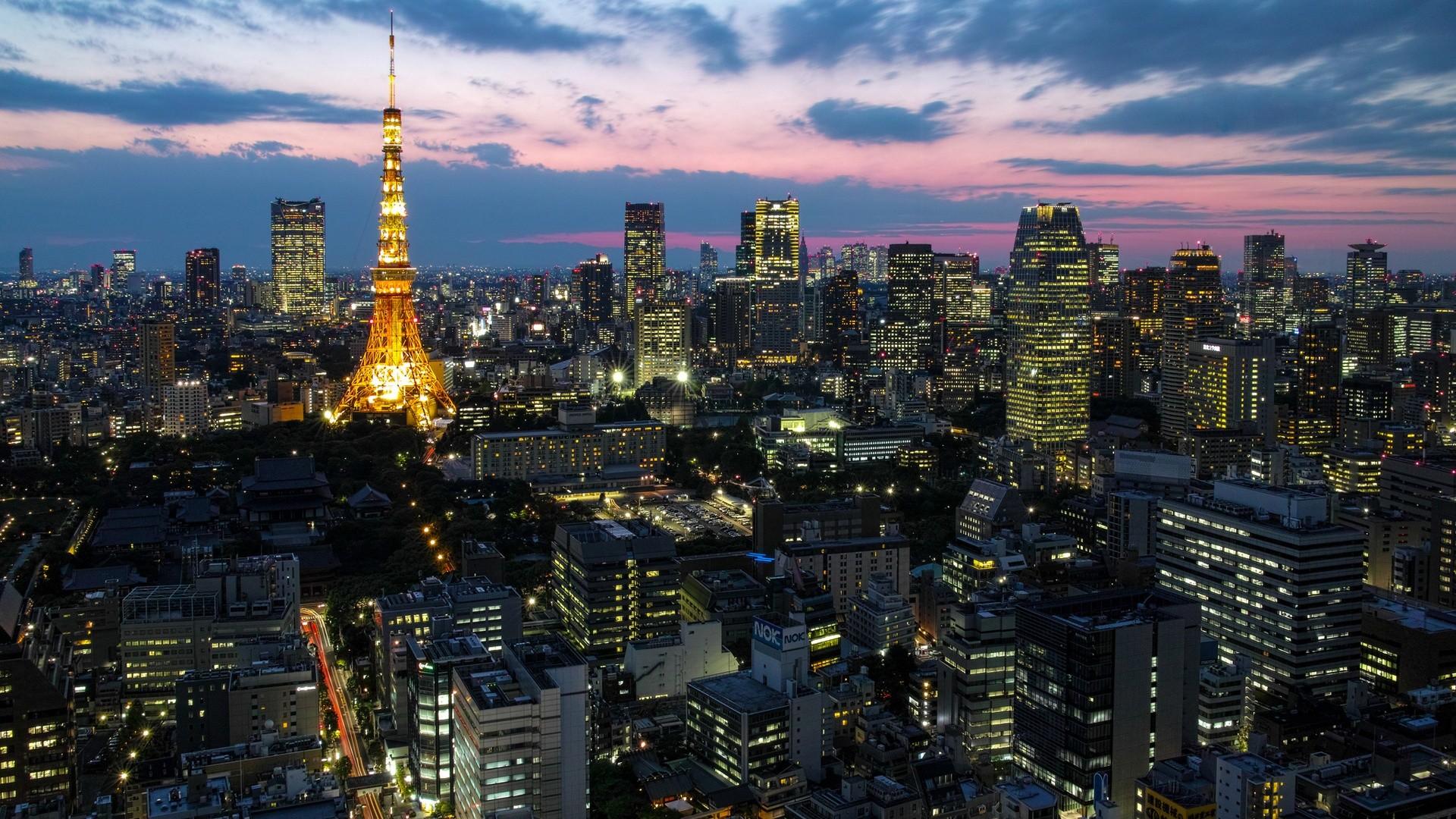 Tokyo City   HD Wallpaper SoloSfondicom 1920x1080