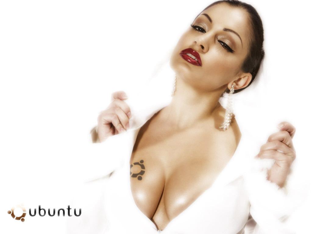 Pure3 Ubuntu Wallpaper   Sensual Hot Girl   Lirentnet 1024x768