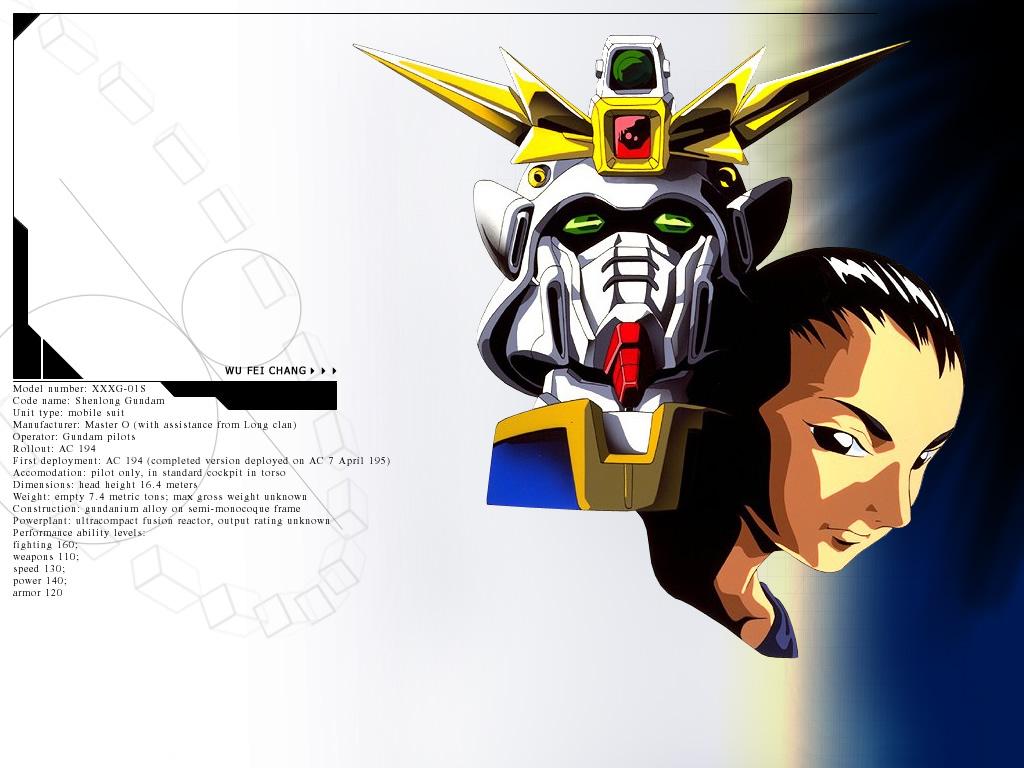 Mobile Suit Gundam Wing Wallpaper 3 HD Desktop Wallpapers 1024x768