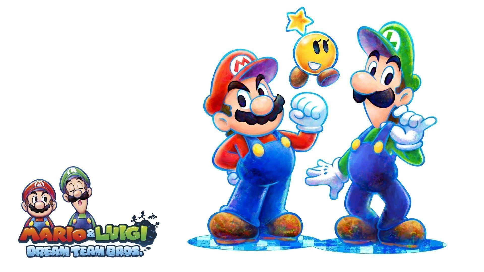 Mario And Luigi Wallpaper Hd Wallpapersafari
