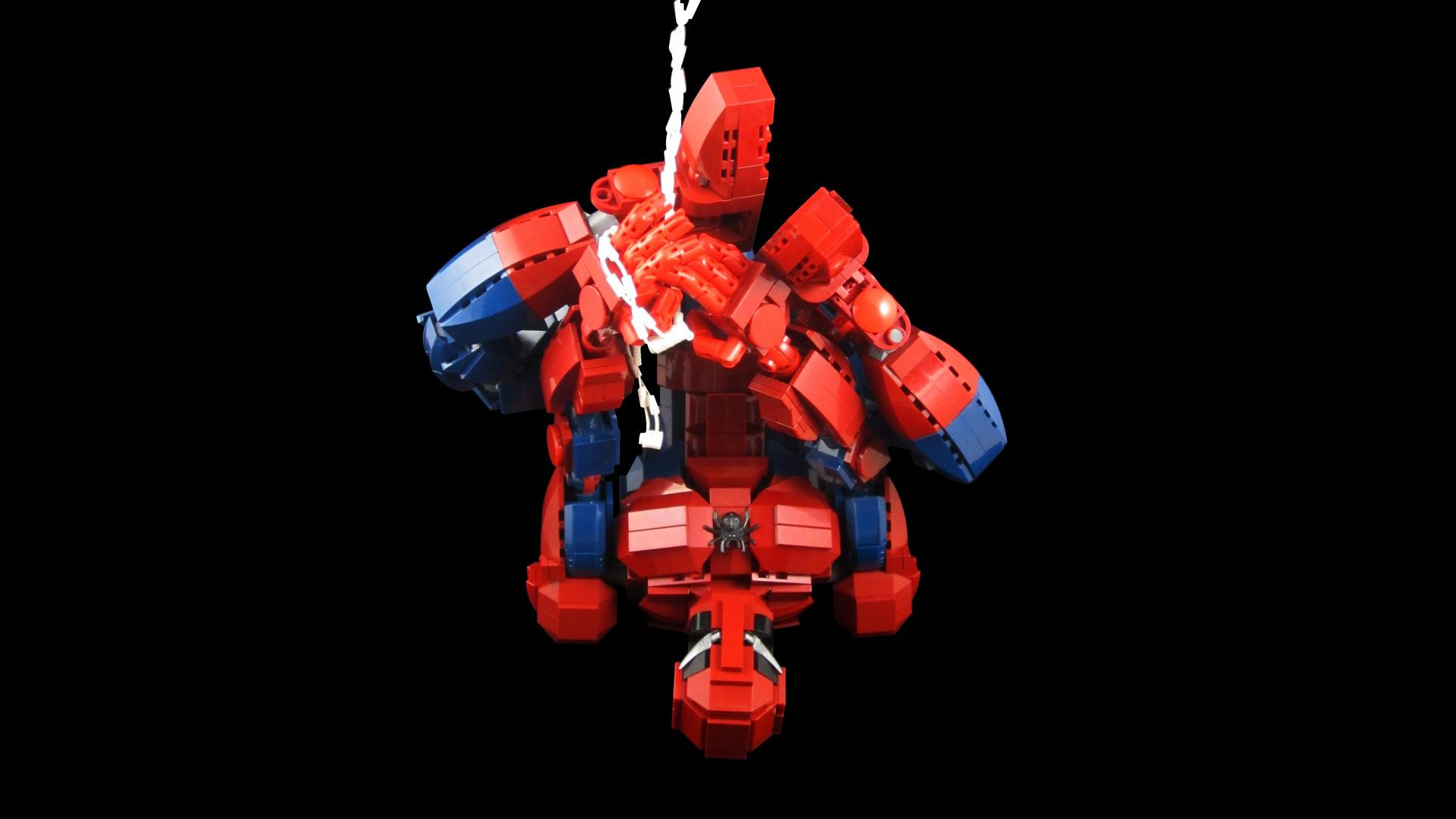 Avengers Wall Mural Lego Spiderman Wallpaper Wallpapersafari