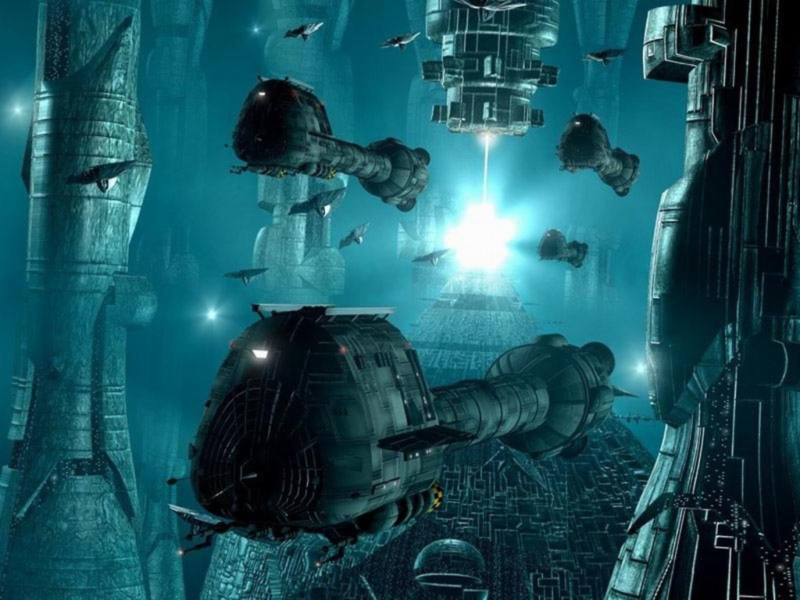 3D Space War Wallpaper - 7144