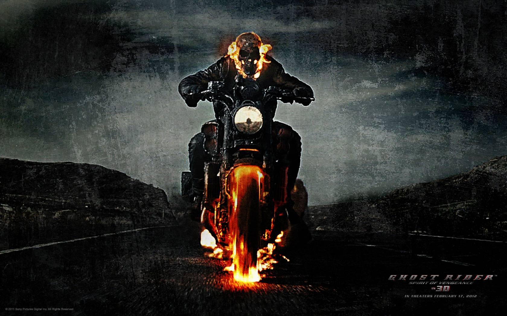 Ghost Rider Spirit of Vengeance Wallpaper Wallpaper for Ghost 1680x1050