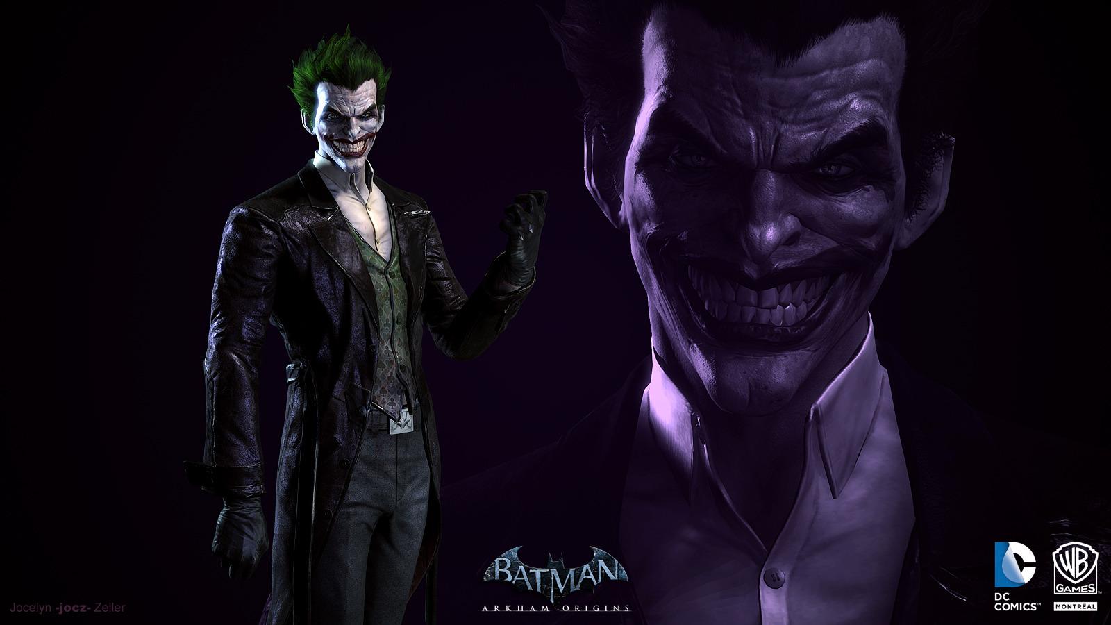 batman arkham origins joker wallpaper 99097 1600x900