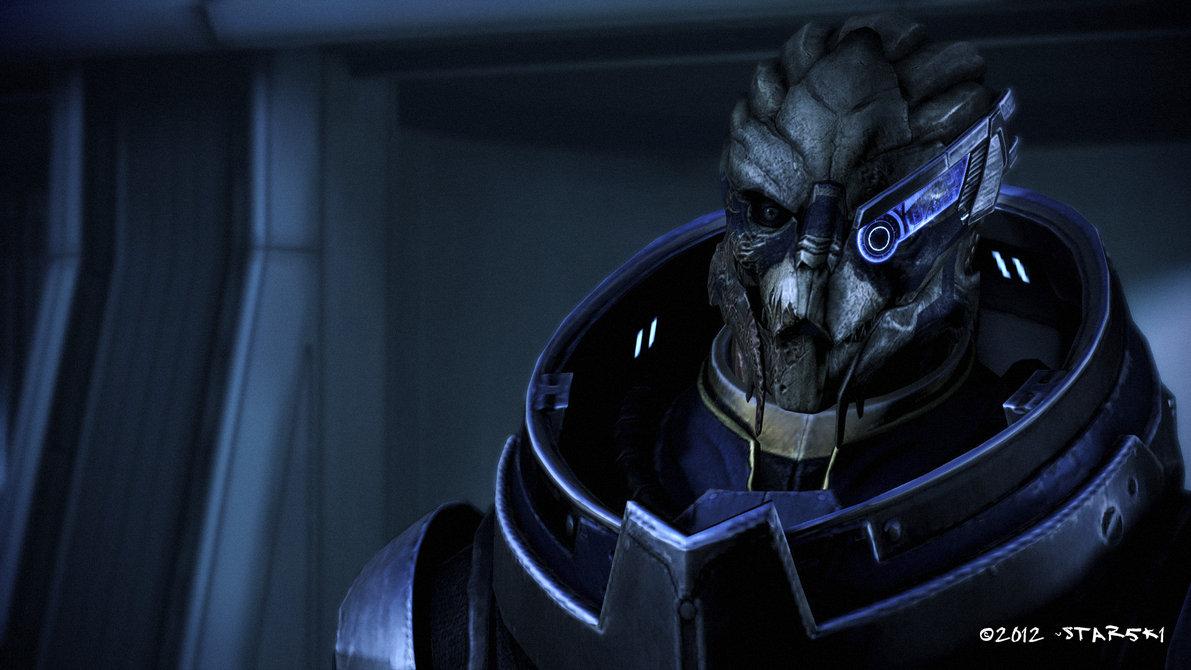 Garrus Vakarian Mass Effect 3 Wallpaper Garrus vakarian by star5k1 1191x670