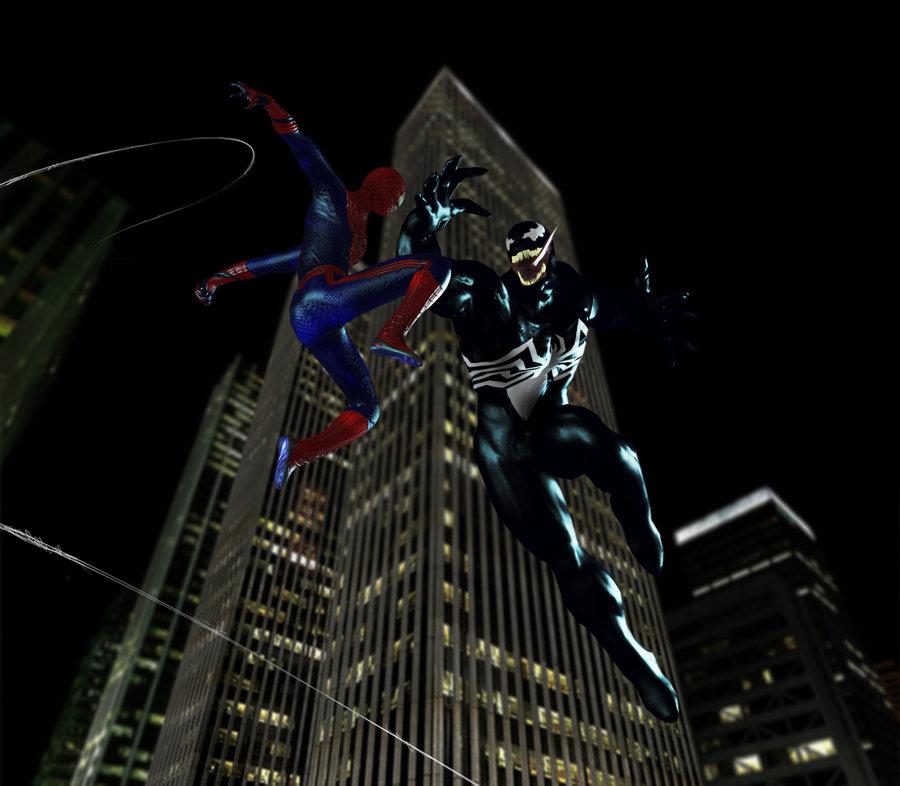 Ultimate Spiderman Vs Venom Wallpaper Spider man vs venom by 900x786