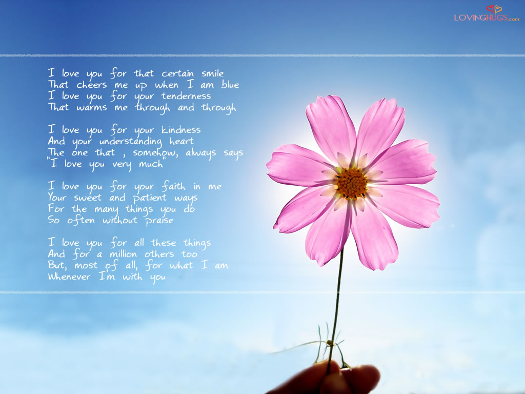 Enjoy this new Love Poems desktop background Love wallpapers 1024x768