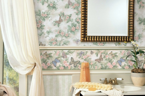 Moisture proof wallpaper for bathrooms Beautify your bathroom an 600x400