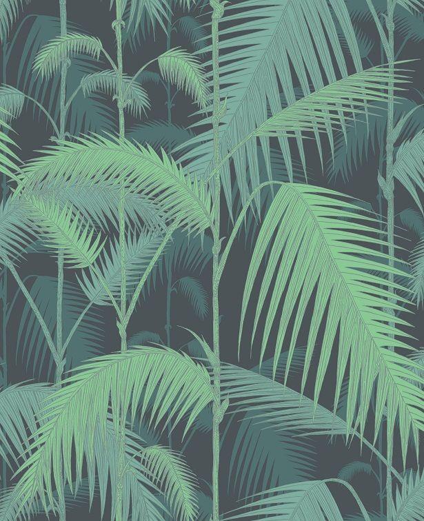 palm frond wallpaper 176roll Tropical Beach Pinterest Palms 615x756