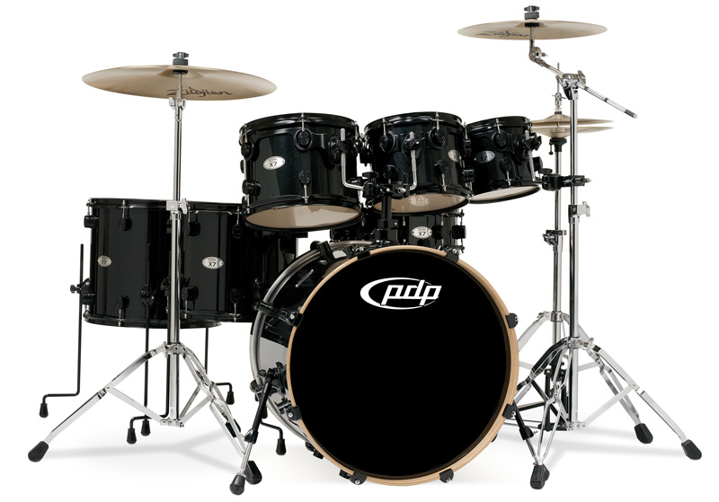 PDP Kits   Pacific Drums and Percussion X7 Series   Lacquered 800x559