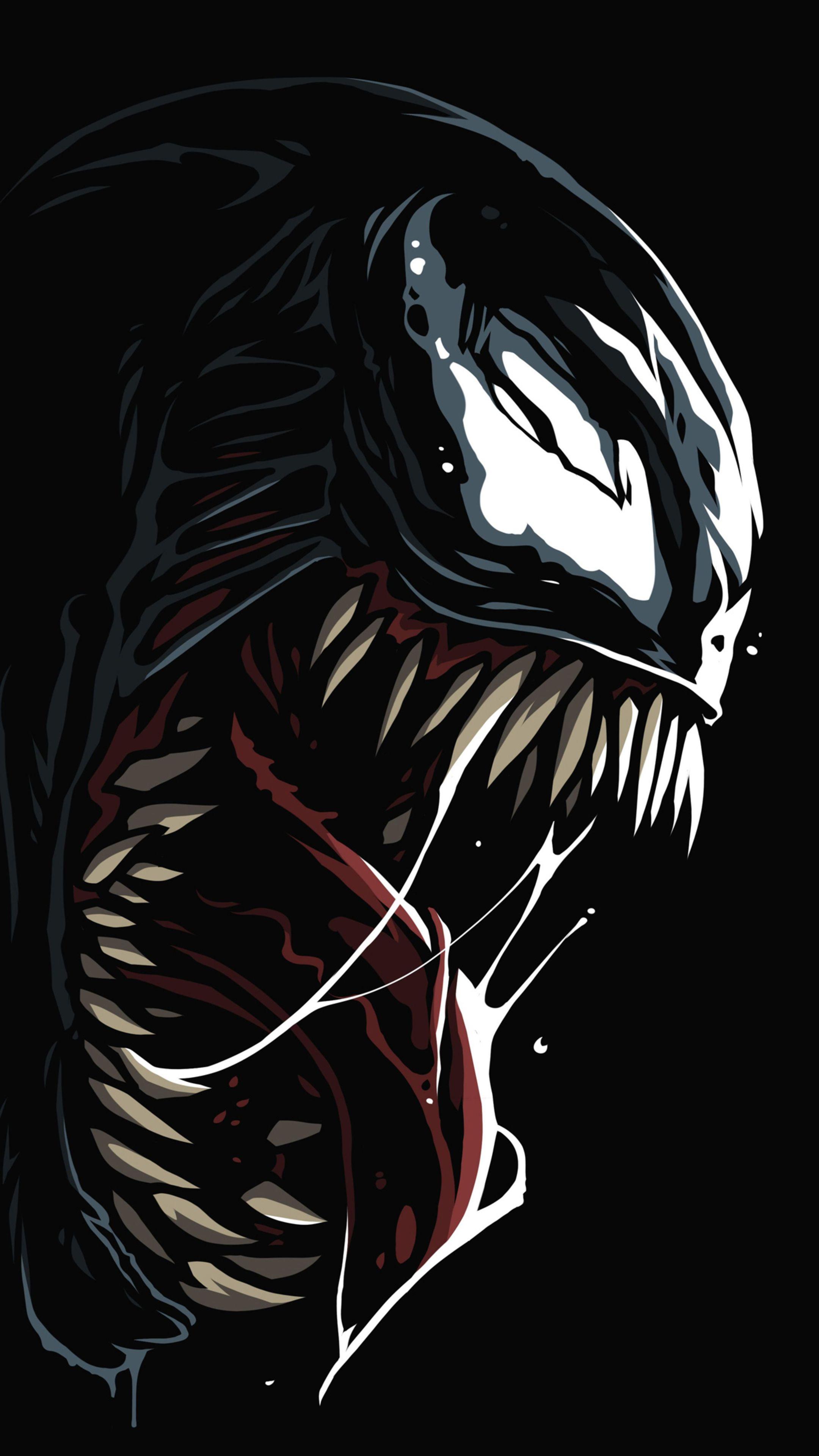 Venom Amoled 4k In 2160x3840 Resolution Deadpool wallpaper 2160x3840
