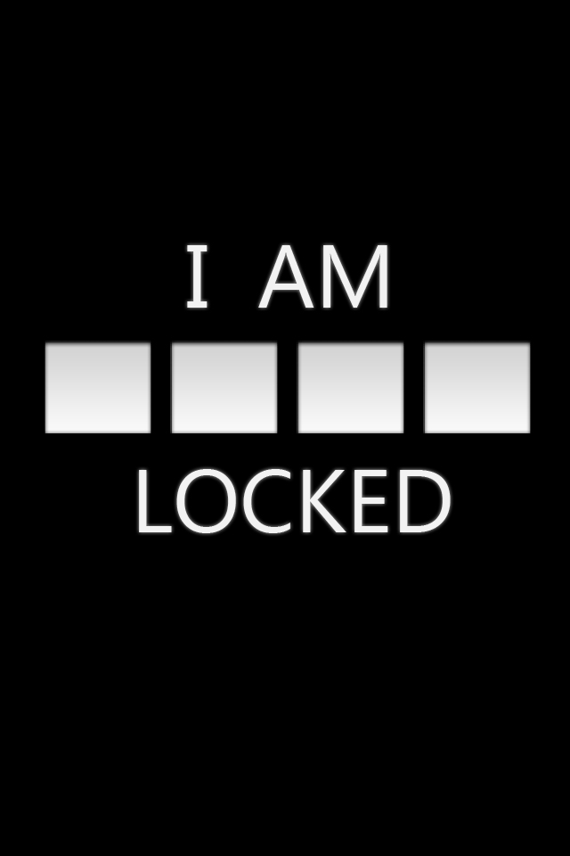 Its Locked Wallpapers 640x960
