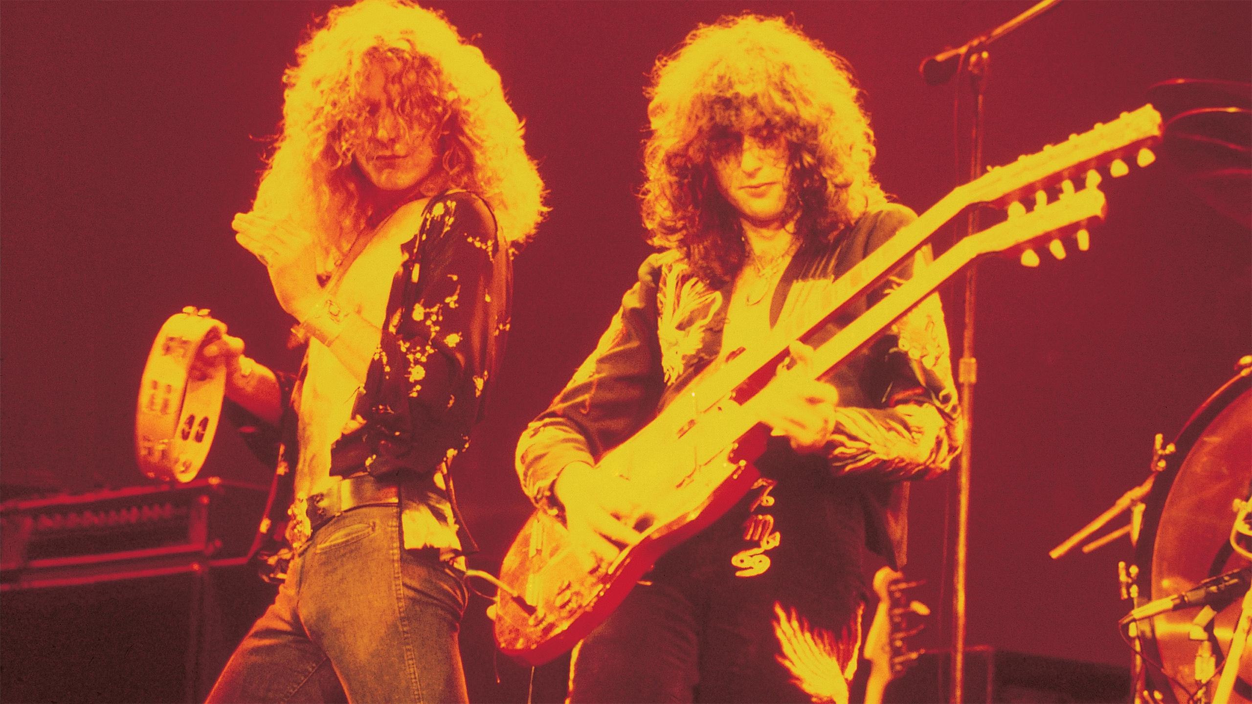 Jimmy Page Playing Guitar HD Wallpapers 2560x1440