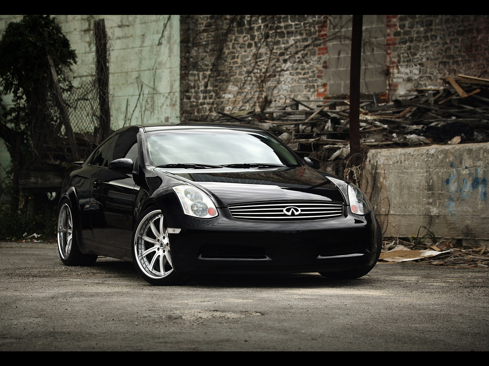 Infiniti G35 Sport Coupe   Photography by Webb Bland Product Shot 1600x1200