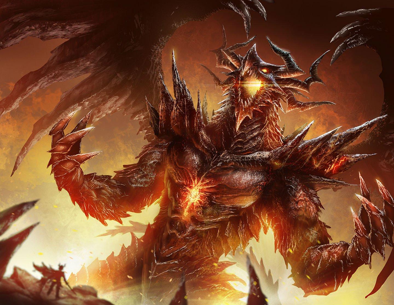 Evil Fire Dragon: HD Dragon Wallpaper Widescreen