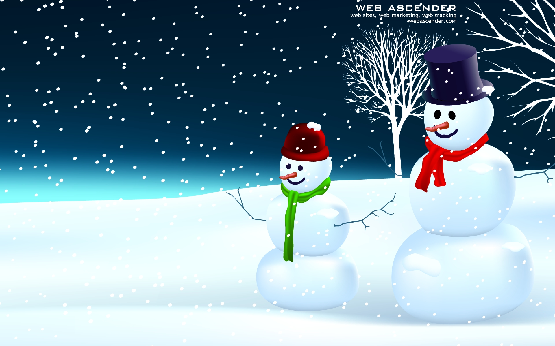 Snowman Wallpaper Widescreen Download