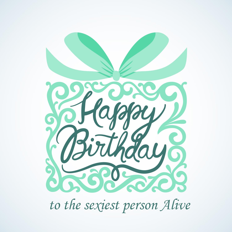 С днем рождения векторная открытка