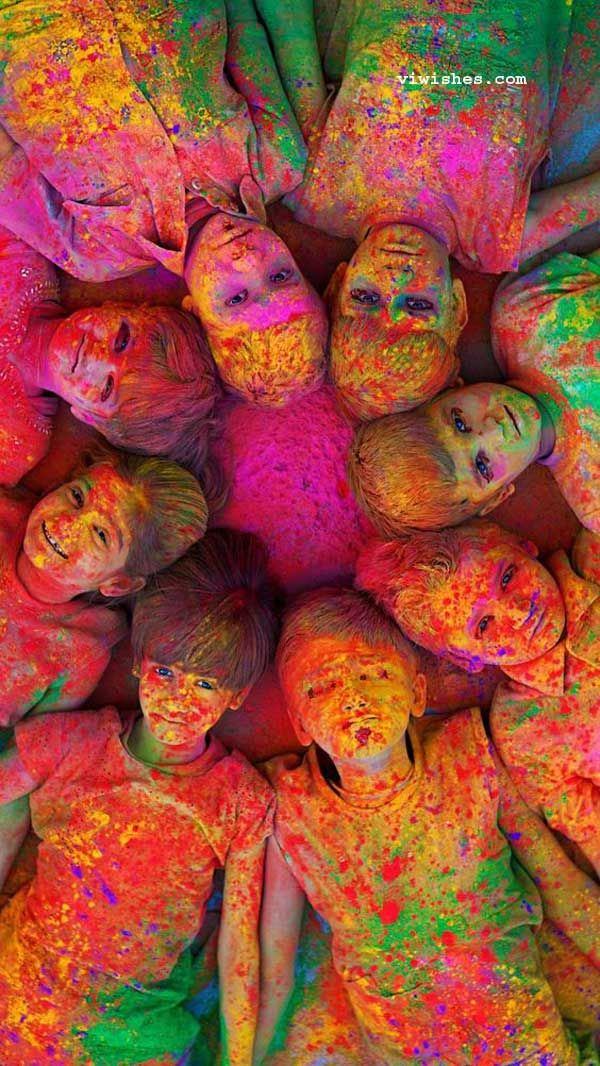 500 Happy Holi Wallpaper 2020 Happy Holi Background Wallpaper 600x1066