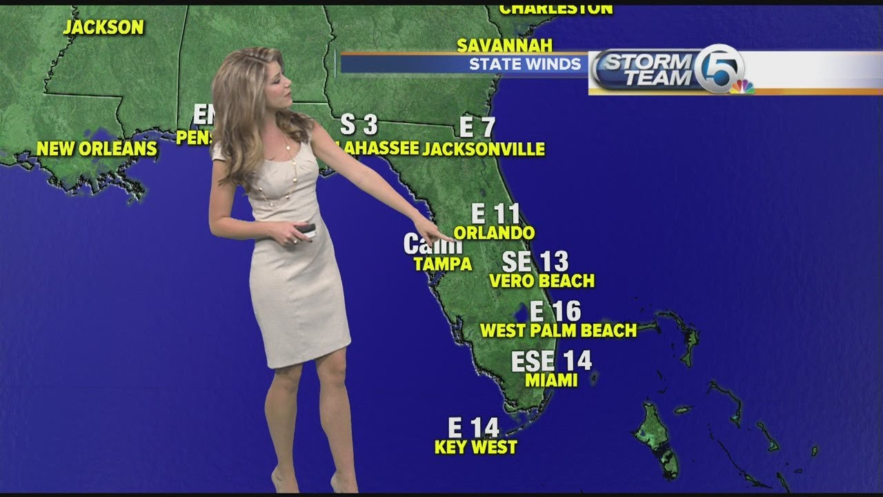 Download Kait Parker Bringing Some Heat to the Weather Game 1280x720