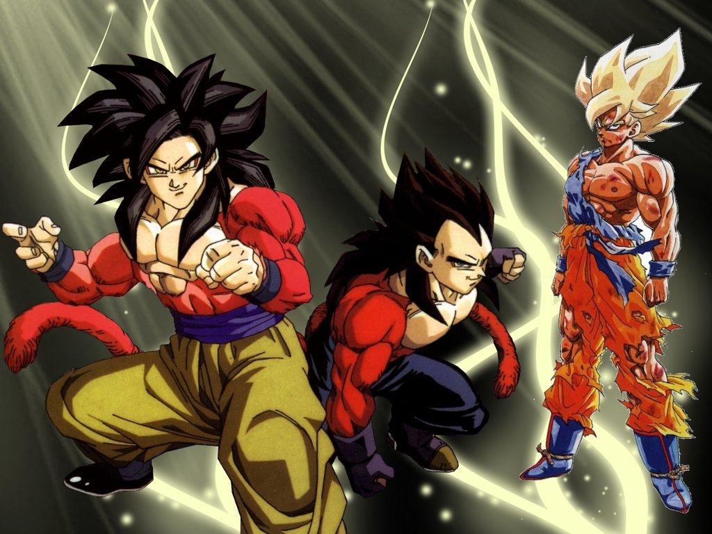 Dragon Ball Goku And Vegeta 1024x768