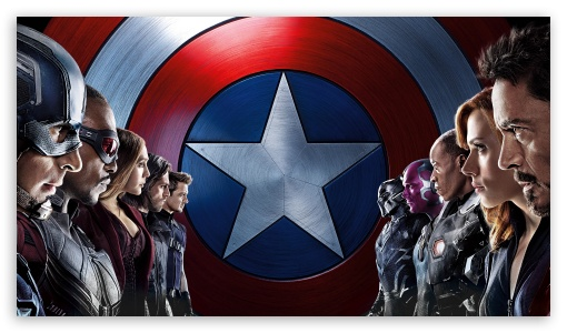Captain America Civil War HD desktop wallpaper High Definition 510x300