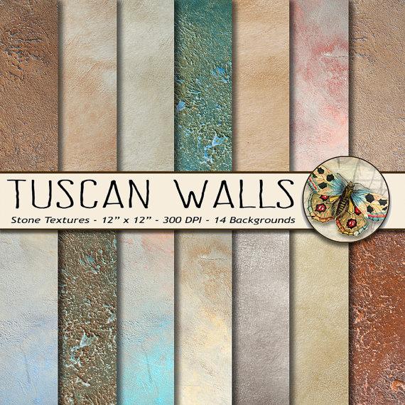 Old World Tuscan Wallpaper