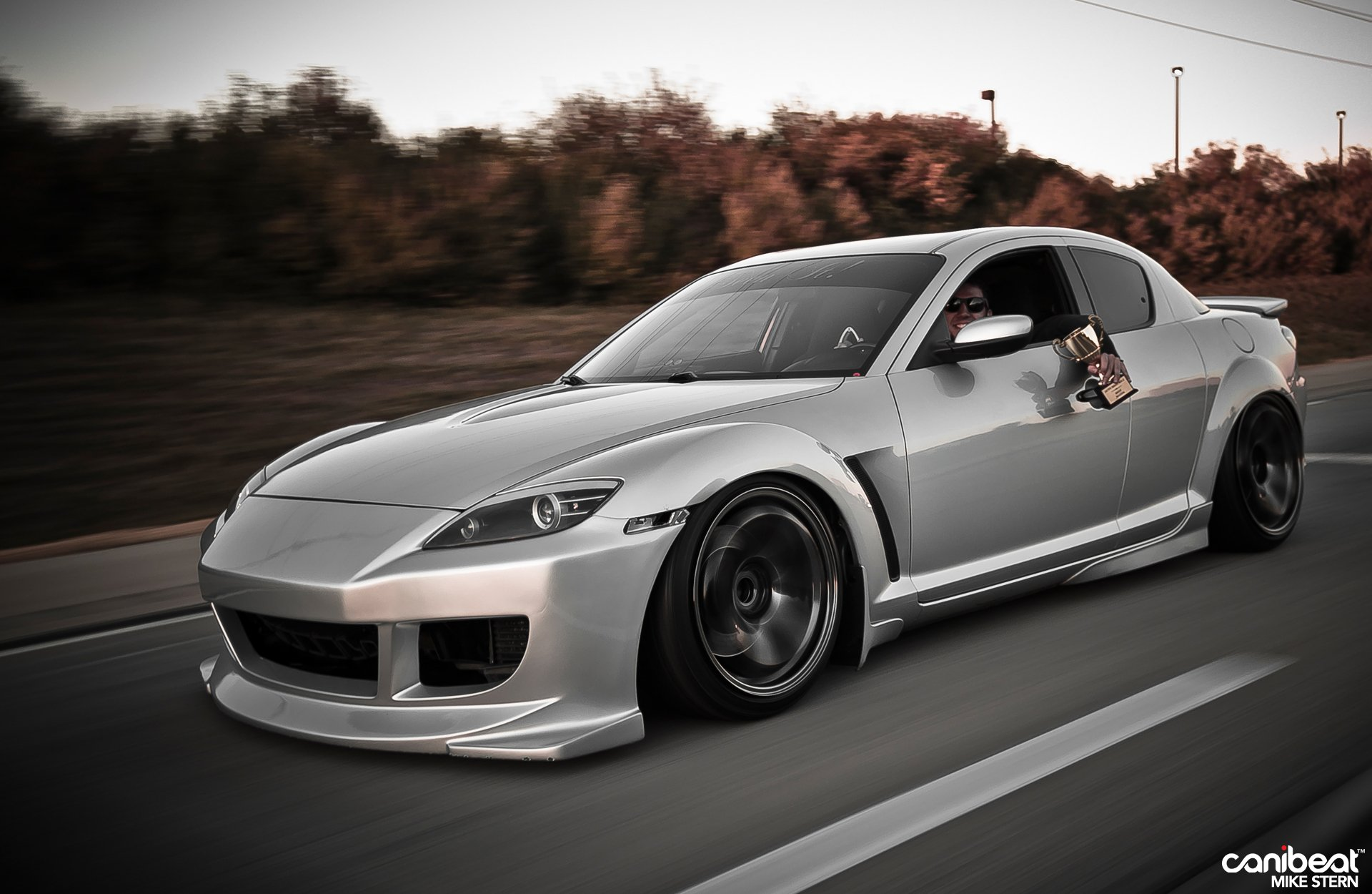 Free download Mazda RX8 coupe tuning japan body kit cars wallpaper