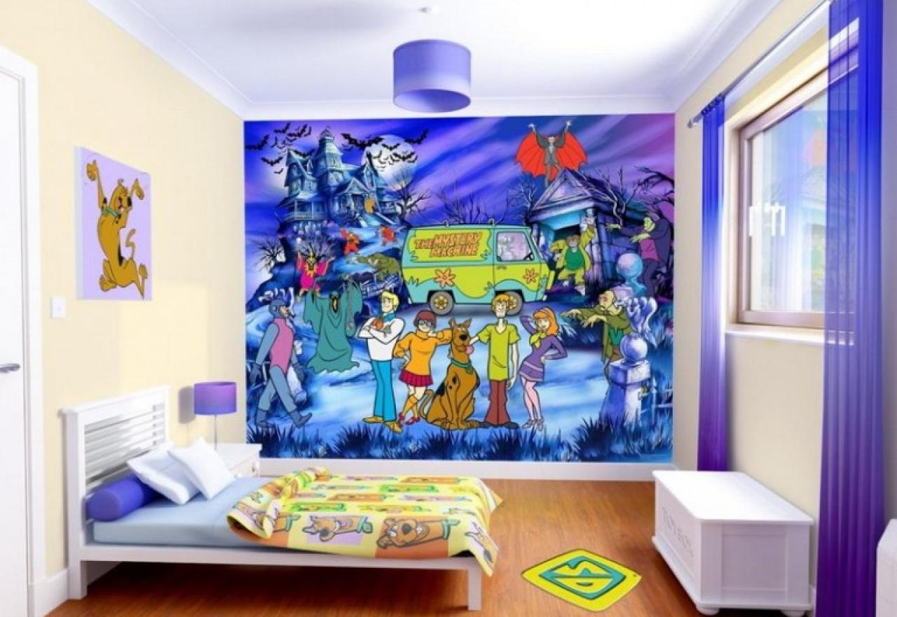 Kids wallpaper murals wallpaper mural bedroom design 1280x880