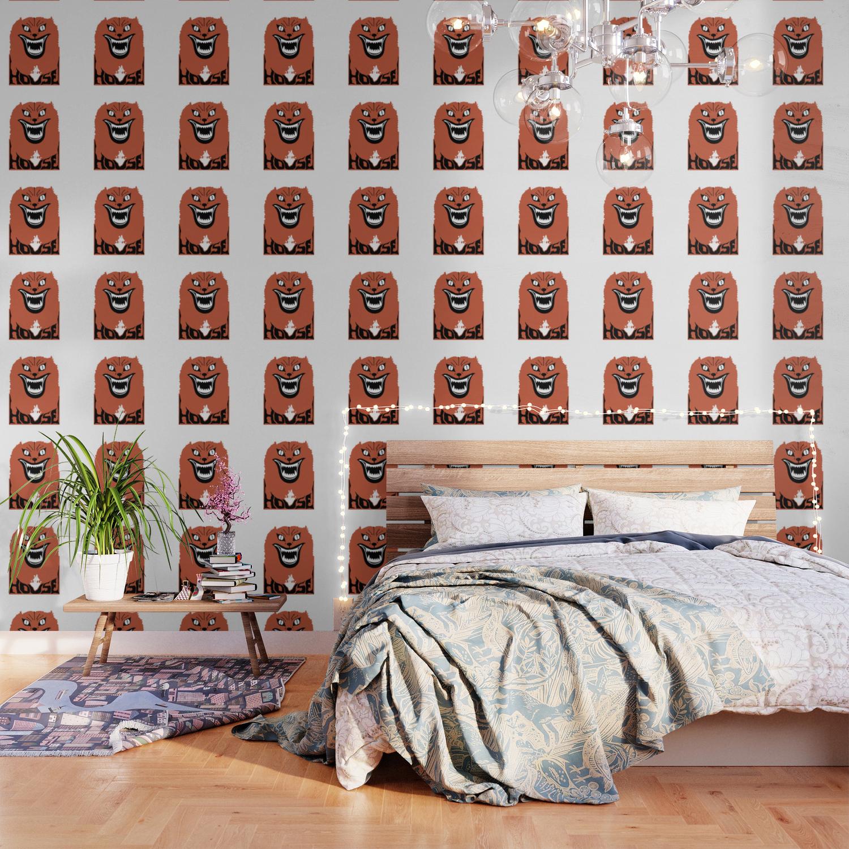 House hausu Wallpaper by exssodanuardi Society6 1500x1500